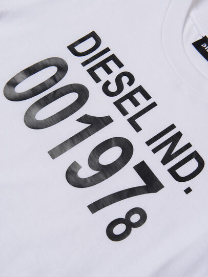Diesel - TDIEGO001978, White - T-shirts and Tops - Image 3
