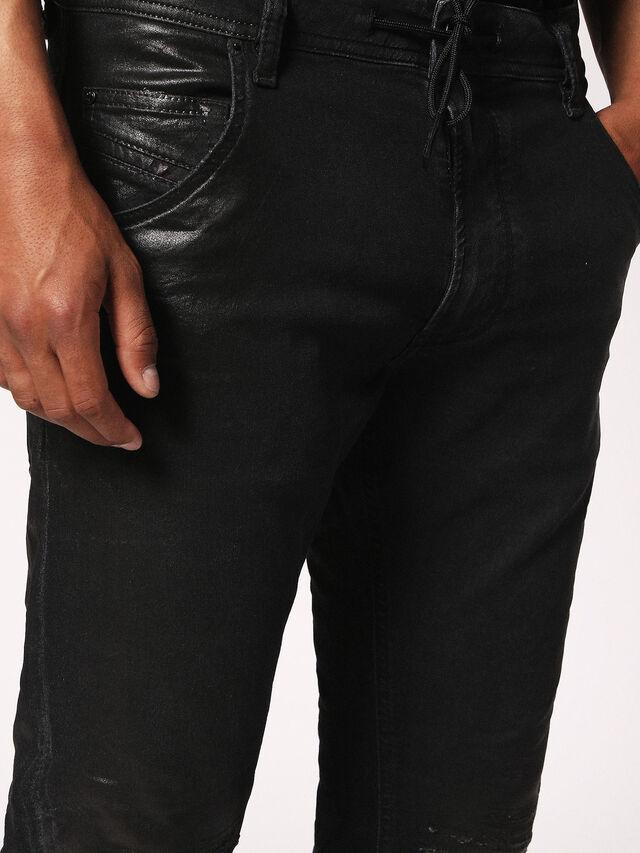 Diesel - KROOLEY CB JOGGJEANS 084JB, Black Jeans - Jeans - Image 8