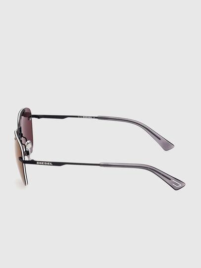 Diesel - DL0350, Black/Red - Sunglasses - Image 3