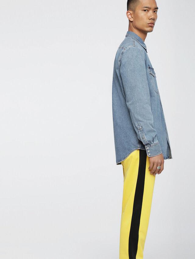 Diesel - D-ROOKE, Blue Jeans - Denim Shirts - Image 3