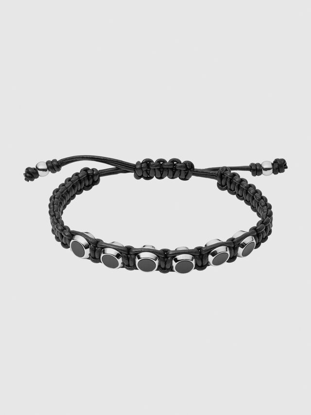 Diesel - BRACELET 1070, Black - Bracelets - Image 1