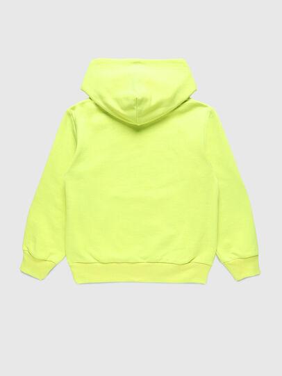 Diesel - SGIRKHOODCODE OVER, Green Fluo - Sweaters - Image 2