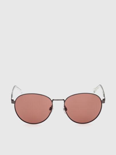 Diesel - DL0355, Black/Red - Sunglasses - Image 1