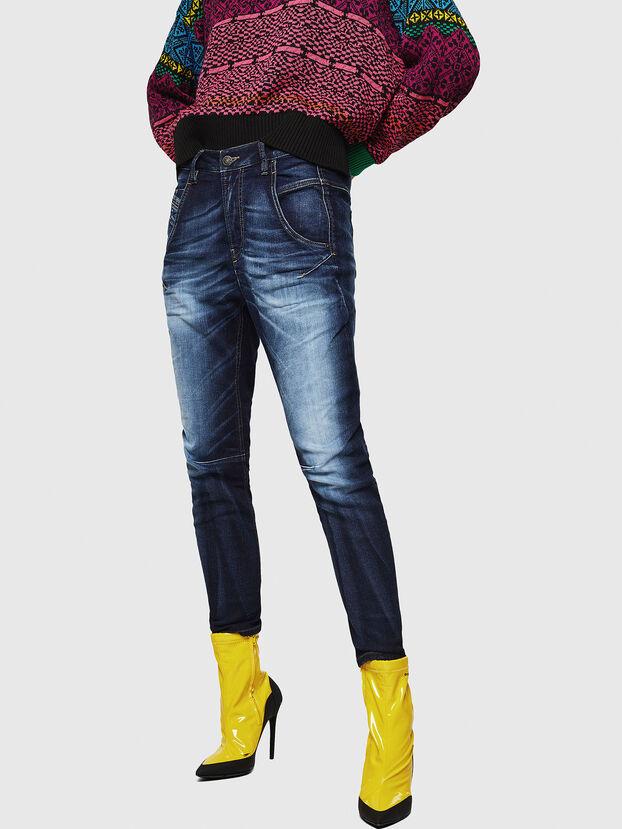 Fayza JoggJeans 069IE, Dark Blue - Jeans