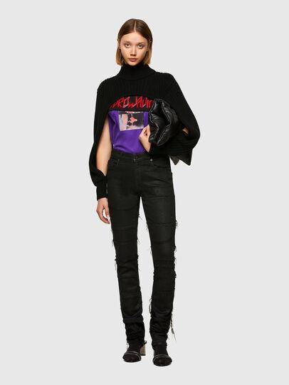 Diesel - T-AIRO, Violet - T-Shirts - Image 5