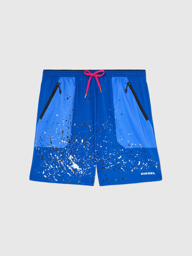 BMBX-TUNAPO, Brilliant Blue - Swim shorts