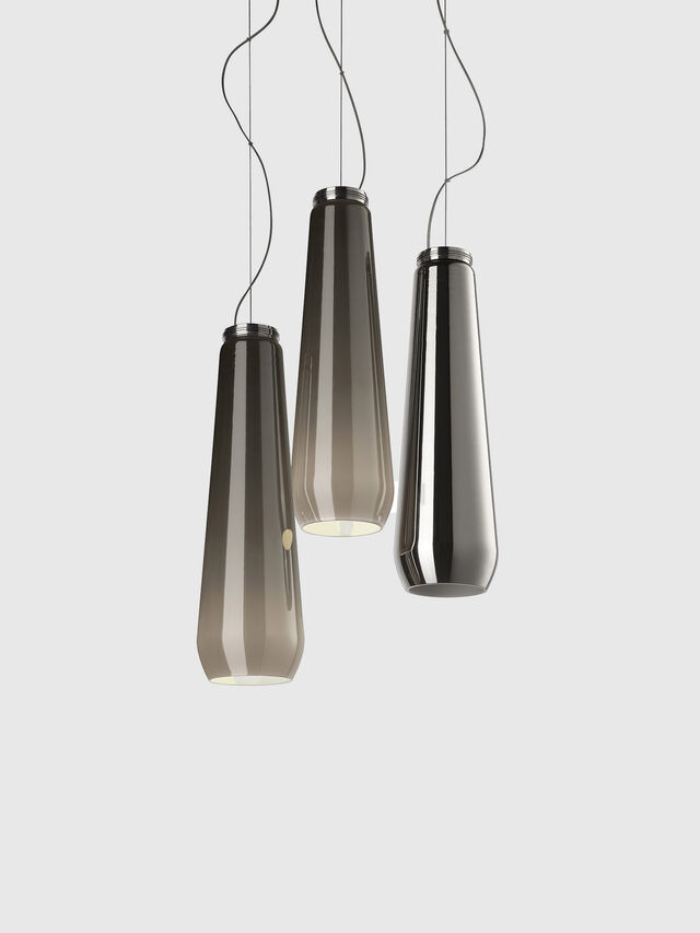 Diesel - GLAS DROP, Grey - Hang Lighting - Image 1