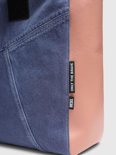 Diesel - LEENA L, Blue/Pink - Shopping and Shoulder Bags - Image 5