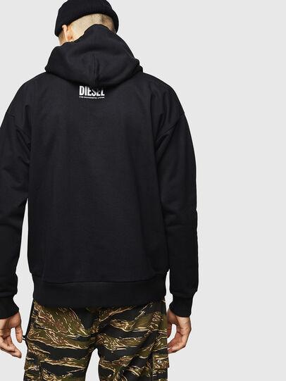 Diesel - S-ALBY-B6, Black - Sweaters - Image 2