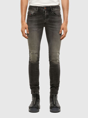 Sleenker 009JF, Black/Dark grey - Jeans
