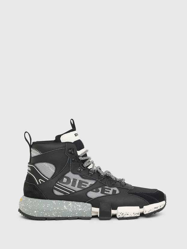 S-PADOLA MID TREK, Black/Grey - Sneakers