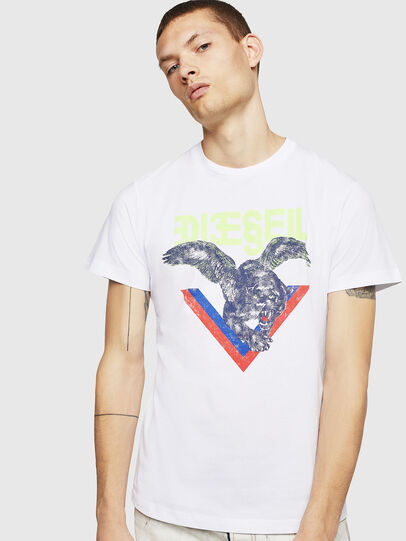 Diesel - T-DIEGO-A4, White - T-Shirts - Image 1