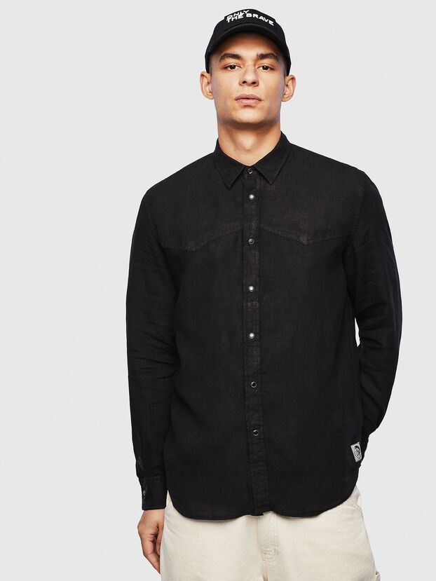 S-PLAN-B, Black - Shirts