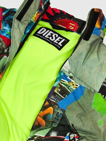 Diesel - W-EMMICK, Red/Green - Winter Jackets - Image 9