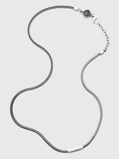 Diesel - DX1240, Silver - Necklaces - Image 1