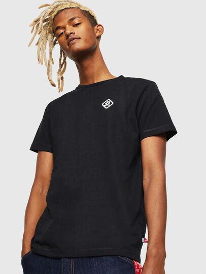 Diesel - CC-T-DIEGO-COLA, Black - T-Shirts - Image 1