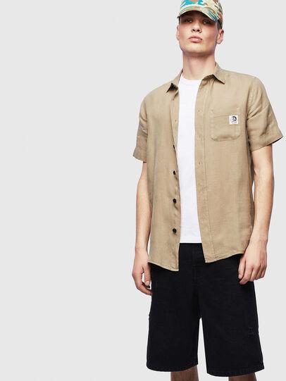 Diesel - S-KIRUMA-B, Beige - Shirts - Image 4