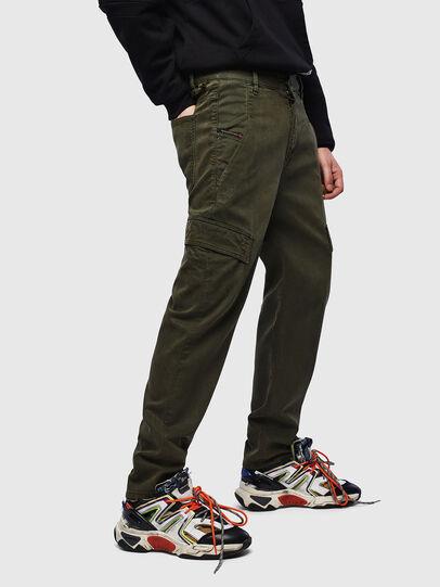 Diesel - D-Krett JoggJeans 069LX, Military Green - Jeans - Image 4