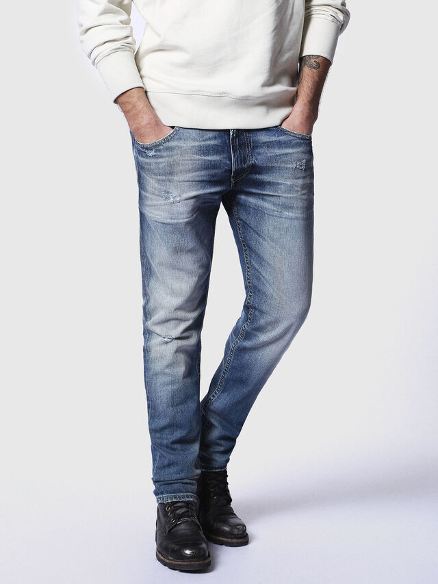 Diesel - Thommer 084DD, Medium blue - Jeans - Image 1
