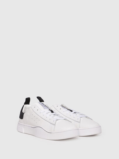 Diesel - S-CLEVER LOW, White/Black - Sneakers - Image 2