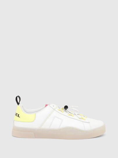 Diesel - S-CLEVER SO C, White/Yellow - Sneakers - Image 1