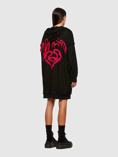 Diesel - D-ADO, Black - Dresses - Image 6