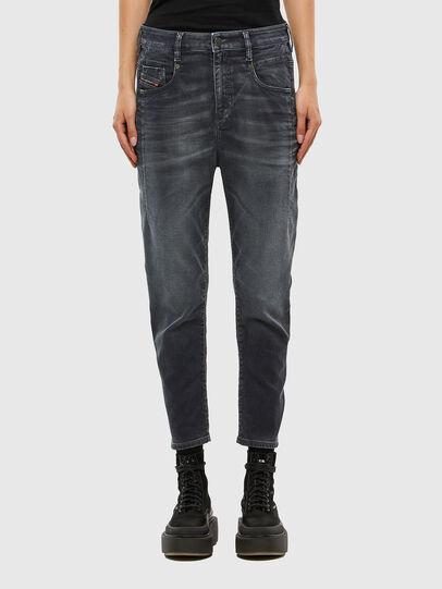 Diesel - Fayza JoggJeans 069QA, Black/Dark grey - Jeans - Image 1