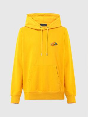 S-GIRK-HOOD-K22, Yellow - Sweaters
