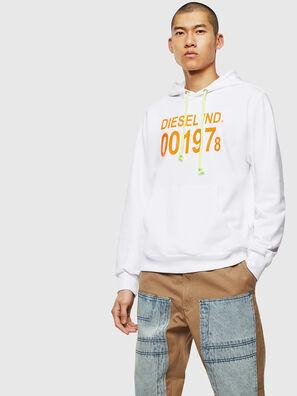 S-GIRK-HOOD, White - Sweaters