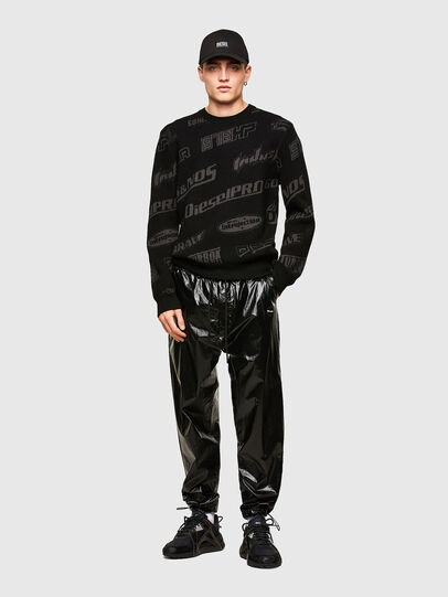 Diesel - K-NICKEL, Black - Knitwear - Image 4
