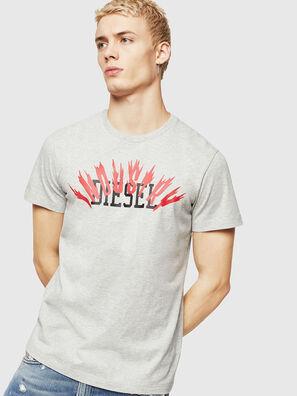T-DIEGO-A10, Grey - T-Shirts