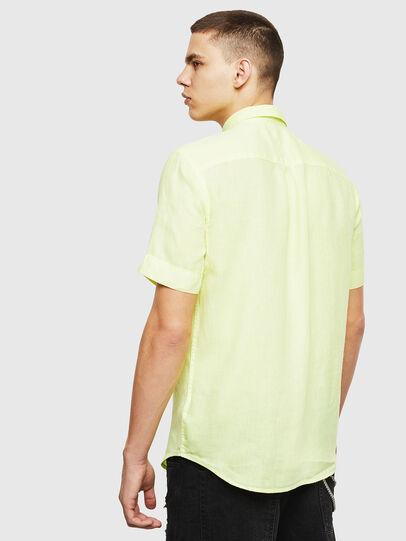 Diesel - S-KIRUMA-B, Yellow Fluo - Shirts - Image 2