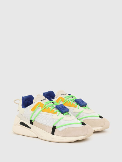 Diesel - S-SERENDIPITY LACE, White/Pink - Sneakers - Image 2