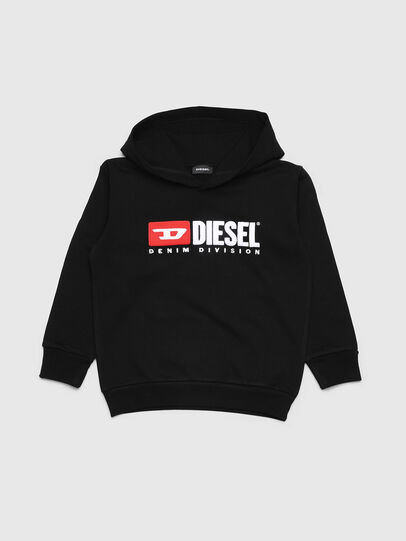 Diesel - SDIVISION OVER, Black - Sweaters - Image 1