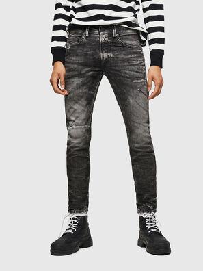 Thommer JoggJeans 0890B, Black/Dark grey - Jeans