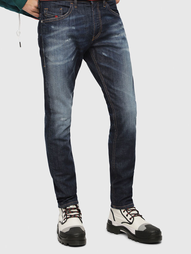 Diesel - Thommer 087AN, Dark Blue - Jeans - Image 1