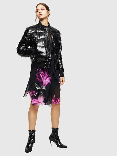 Diesel - W-ONY, Black - Winter Jackets - Image 8