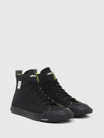 Diesel - S-ASTICO MID CUT, Black - Sneakers - Image 2