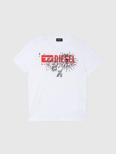 Diesel - TUDARI, White - T-shirts and Tops - Image 1
