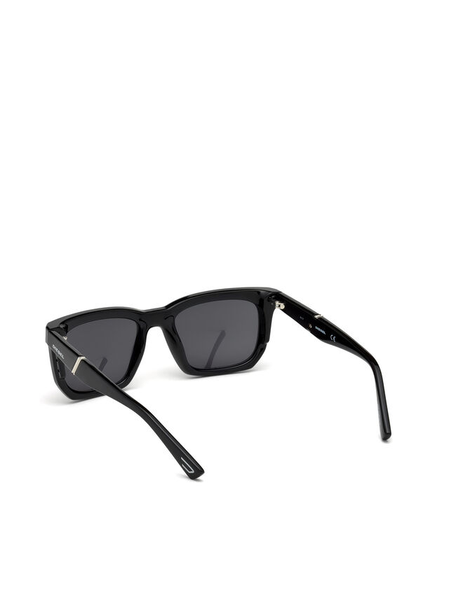 Diesel - DL0254, Black - Sunglasses - Image 2