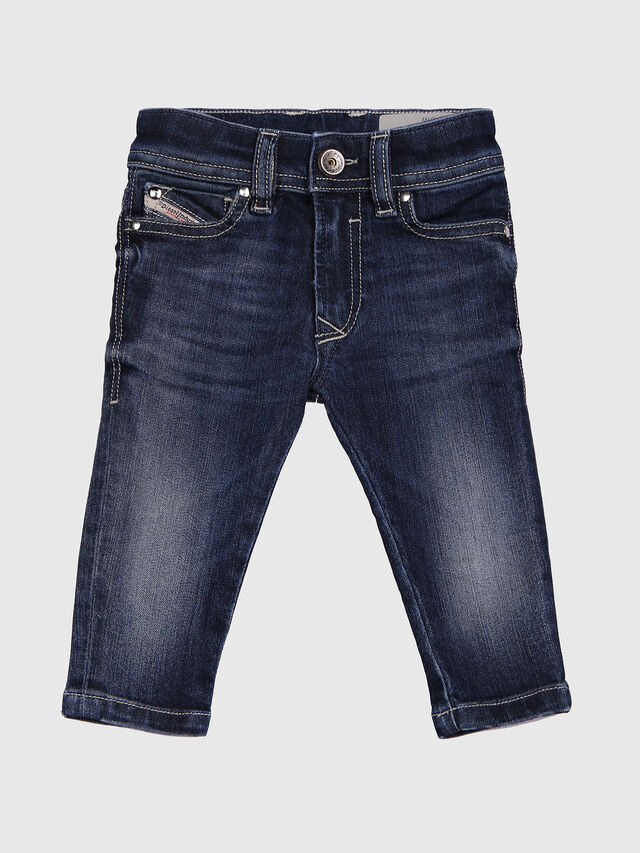 Diesel - SLEENKER-B-N, Blue Jeans - Jeans - Image 2