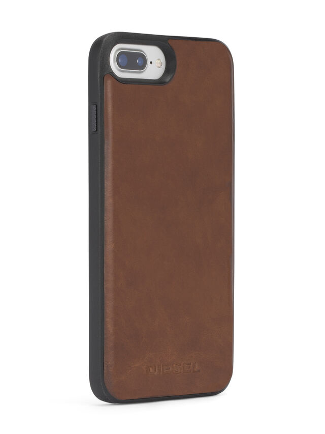 BROWN LEATHER IPHONE X CASE, Brown