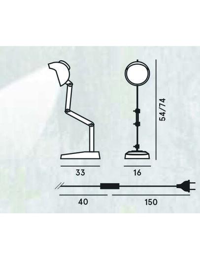 Diesel - DUII TAVOLO,  - Table Lighting - Image 2