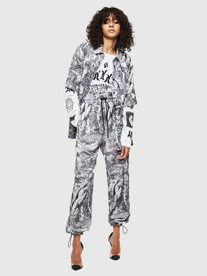 P-TOLL-FL, Black/White - Pants