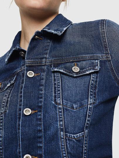 Diesel - DE-LIMMY, Dark Blue - Denim Jackets - Image 3