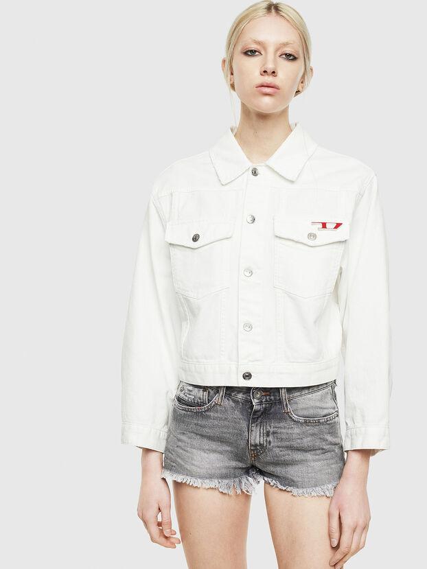 DE-CATY, White - Denim Jackets