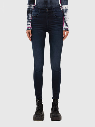 Diesel - Slandy High 009JG, Dark Blue - Jeans - Image 1