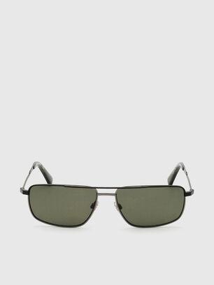 DL0308, Black/Grey - Sunglasses