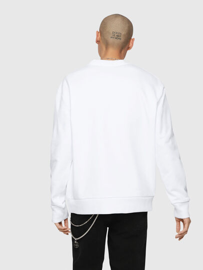 Diesel - S-LINK, White - Sweaters - Image 3