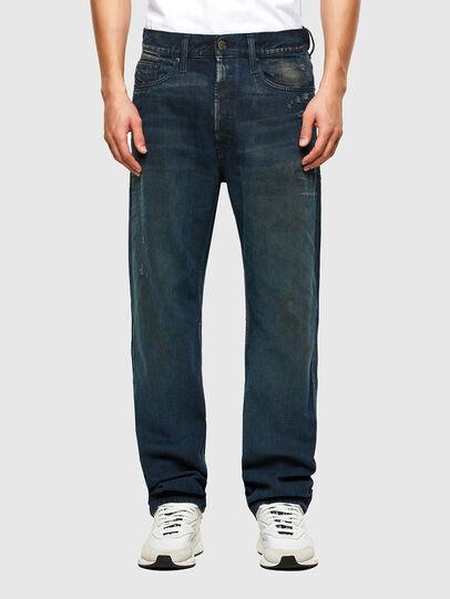 Diesel - D-Macs 009KB, Dark Blue - Jeans - Image 1